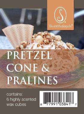 Pretzel Cone & Pralines