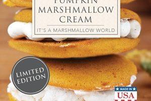 Pumpkin Marshmallow Cream Wax Melts