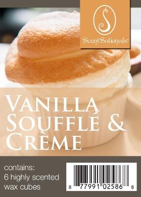 vanilla souffle & creme