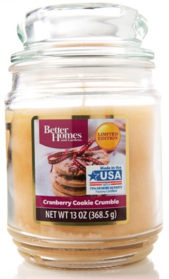 Cranberry Cookie Crumble Better Homes And Gardens Candle