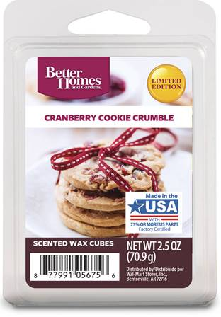 Cranberry Cookie Crumble