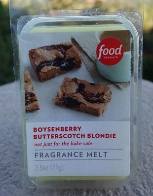 Boysenberry Butterscotch Blondie