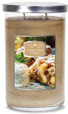 Vanilla Apple Strudel