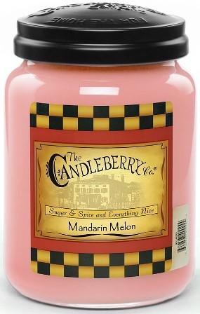Mandarin Melon Candle Candleberry