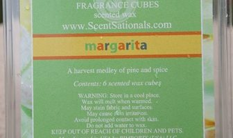 Margarita ScentSationals Scented Wax Melt Review