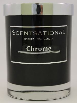 Chrome Candle By ScentSationals
