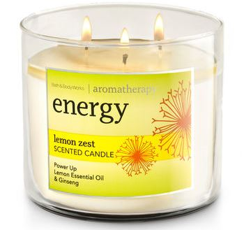 Lemon Zest Candle Bath & Body Works