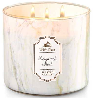 Bergamot Mint White Barn Scented Candle Review Candlefind