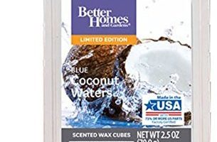 Blue Coconut Waters Wax Melt Review