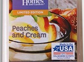 Peaches and Cream Scented Wax Melt Review