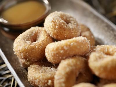 cinnamon sugared donut