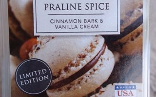 Praline Spice ScentSationals Melt Review