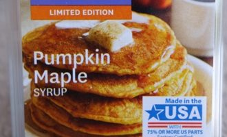 pumpkin maple syrup