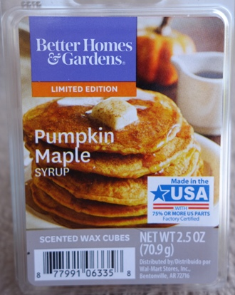 pumpkin maple syrup