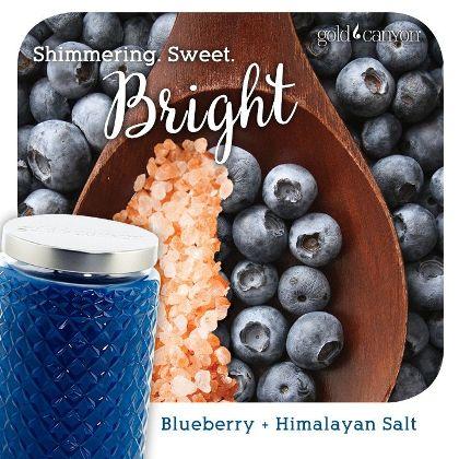 blueberry + Himalayan Salt
