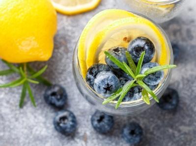 Lemon Blueberry Twist