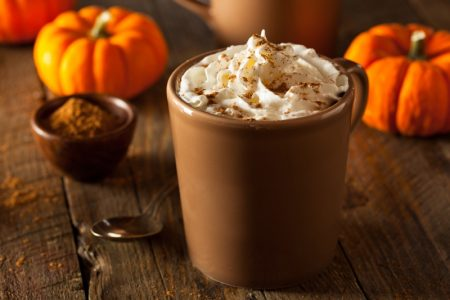 Whipped Pumpkin Latte