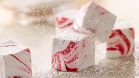 Marshmallow Candy Canes