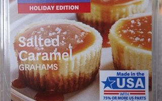 Salted Caramel Grahams Scented Wax Melt Review