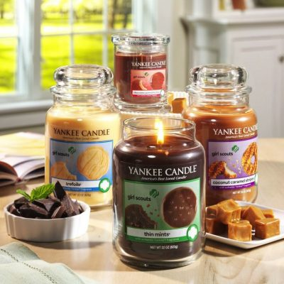 Girl Scout Cookie Candles
