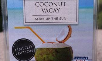 Coconut Vacay ScentSationals Wax Melt Review