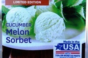 Cucumber Melon Sorbet Wax Melt Review