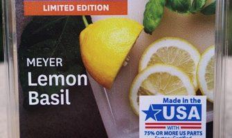 Meyer Lemon Basil Wax Melt Review