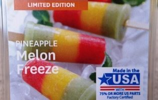 Pineapple Melon Freeze Wax Melt Review