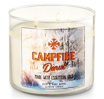Campfire Donut Bath Body Works Candle Review