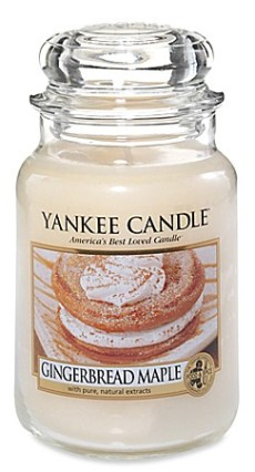 Gingerbread Maple Candle Yankee Candle