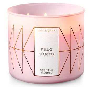 Palo Santo Bath Body Works Scented Candle Review