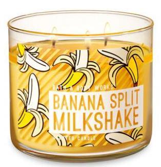 Banana Split Milkshake