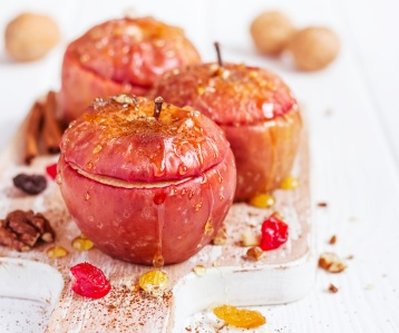 Honey Soaked Apples