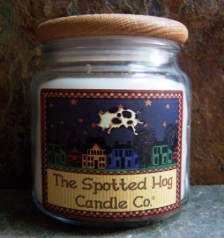 Spotted Hog Candles