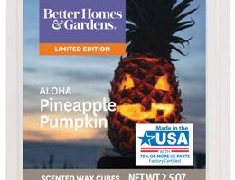 Aloha Pineapple Pumpkin Scented Melt Review