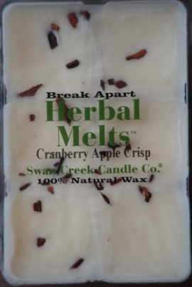 Cranberry Apple Crisp Wax Melt Swan Creek Candle Co