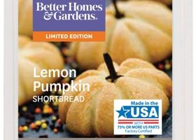 Lemon Pumpkin Shortbread