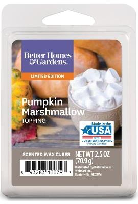 Pumpkin Marshmallow Toppings