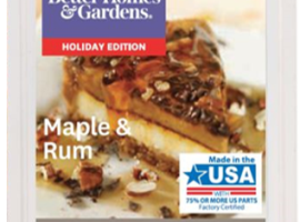 Maple & Rum Better Homes & Gardens Review