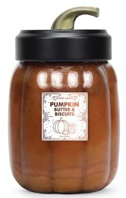 Pumpkin Butter & Biscuits