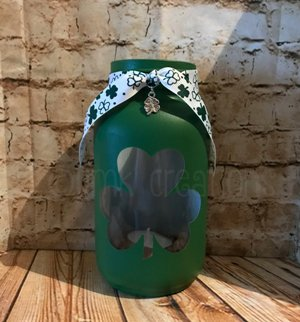 St. Patrick's Day Candles