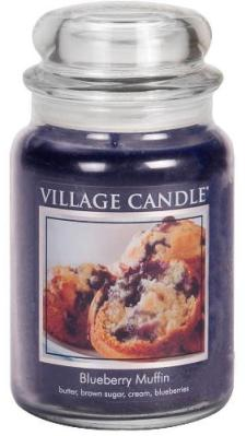 Blueberry Muffin Candle Village Candle