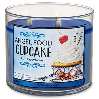 Angel Food Cupcake Candle Bath & Body Works