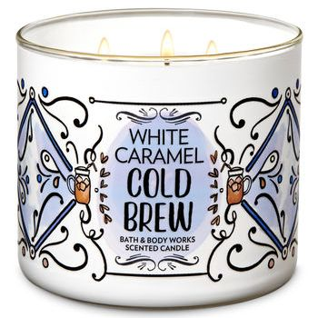 Bath & Body Works White Caramel Cold Brew Candle