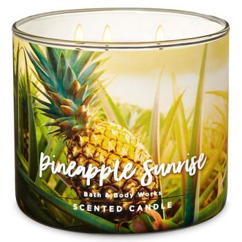 Pineapple Sunrise Candle Bath & Body Works