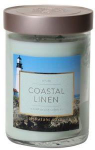 Coastal Linen Candle
