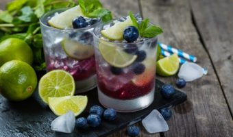 Blueberry Lime Mojito
