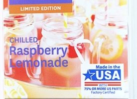 Chilled Raspberry Lemonade