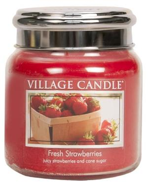 Fresh Strawberries Candle Village Candle
