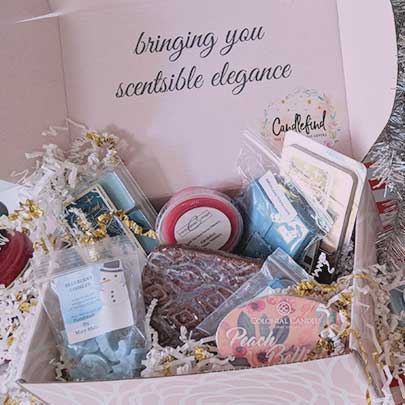 Holiday Candle Gifts-Melting Business Holiday Box from Candlefind